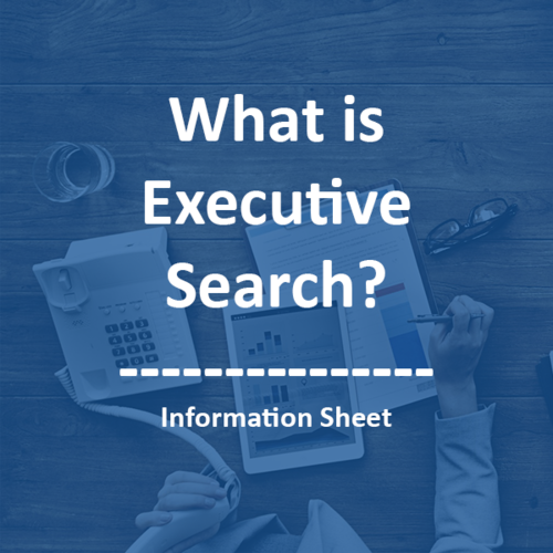 What is retained executive search?