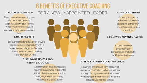 6 benefits of executive coaching for a newly appointed leader