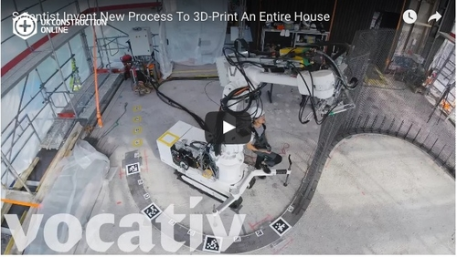 3D printer  builds three storey house - but will it lead to investment?