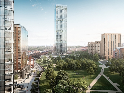 Angel Meadow plans submitted