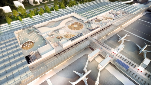 Airport video launched as redevelopment begins