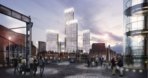 The six huge towers that will change Manchester's skyline forever