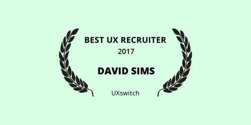 Best UX Recruiter 2017