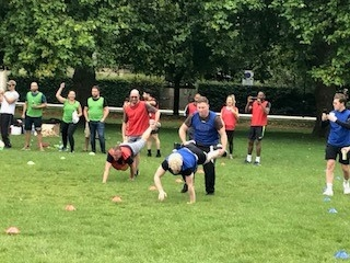 'Sports Day' = recruiter team building at its finest!
