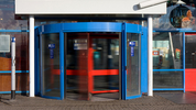 What's with the revolving door?