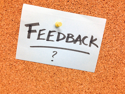Feedback is a journey to be embraced
