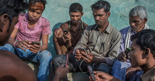 No, Google's Not a Bird.  Bringing the Internet to Rural India