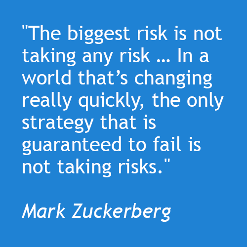 There is No Zero-Risk Option in Change