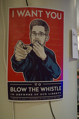 Don't dismiss whistleblowers, even if primary motive is their own pay