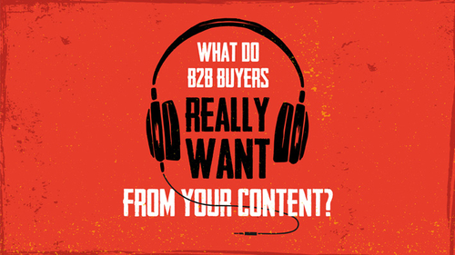 What do B2B Buyers Really Want From Your Content?