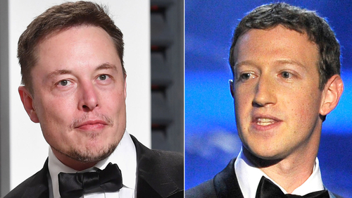 Facebook face-off with Tesla