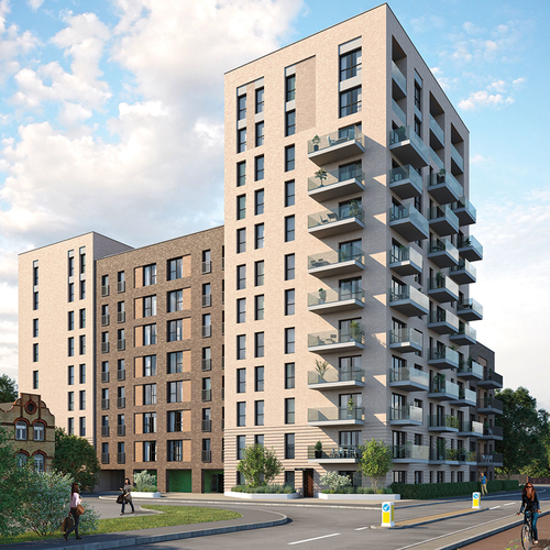 Greenview Court – brand new development in West London
