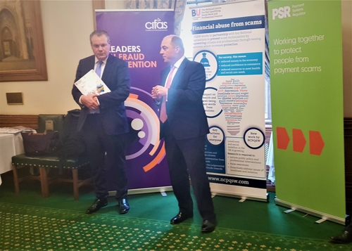 The APPG on Financial Crime & Scamming launches initiative at The House of Commons - Lets get talking about it