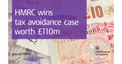 HMRC wins tax avoidance case worth £110 million
