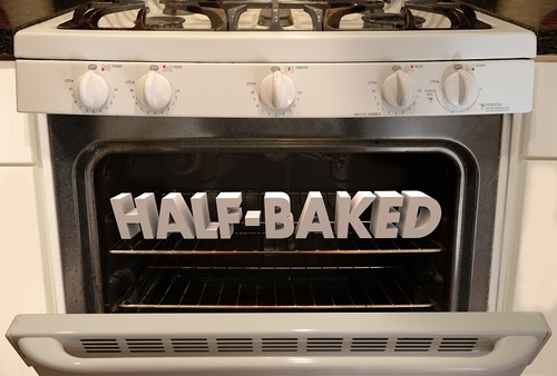Home cooked or half baked?