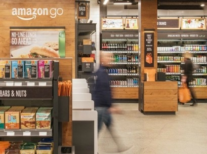 Amazon's take on bricks and mortar