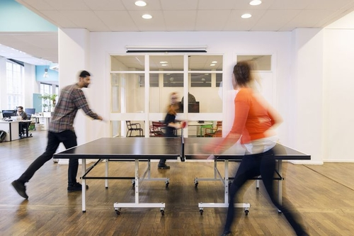 Hands up... Ping pong in the office or working from home in your Calvins?