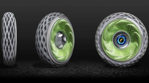 A rolling tyre gathers no moss? Or does it...