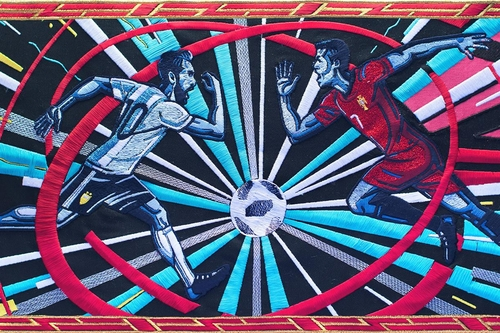 BBC tapestry tells World Cup story