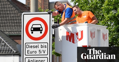 Hamburg becomes first German city to ban older diesel cars