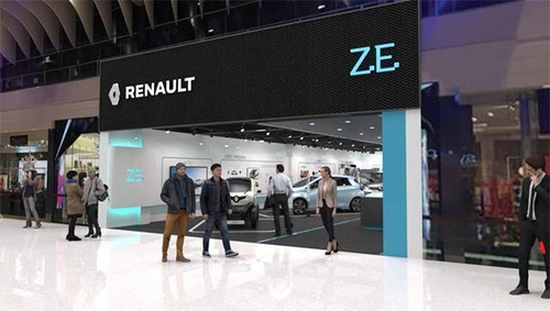 Renault To Open First Dedicated Electric Vehicle Concept Store In Europe