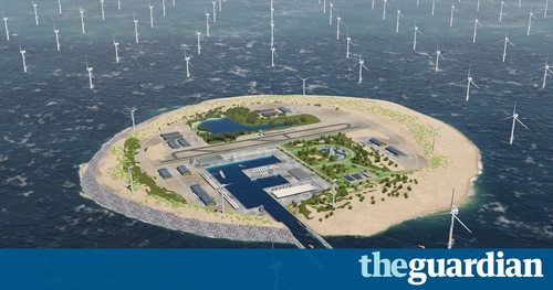 Is this the future? Dutch plan vast windfarm island in North Sea