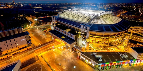 Nissan Leaf battery packs now power large energy storage system at Johan Cruijff arena