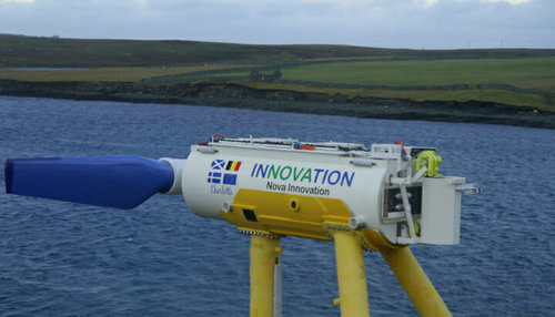 Tidal energy firm makes waves with Tesla battery storage