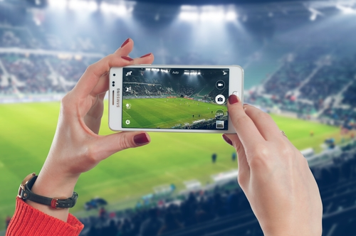Augmented reality on the sporting stage