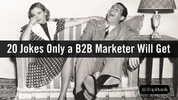 B2B marketing jokes...