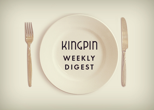 Kingpin Weekly Digest - GDPR (obviously), rise of influencers, SiriusDecision ABM event & some IAB stats