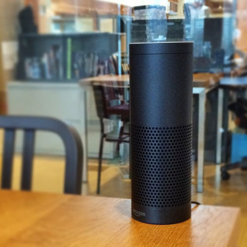 What impact Echo, Siri etc on B2B?