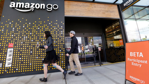 Amazon Go! Your future is finally here...... maybe