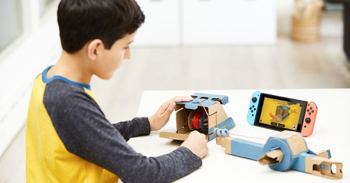 Nintendo makes cardboard cool again with this surprise announcement
