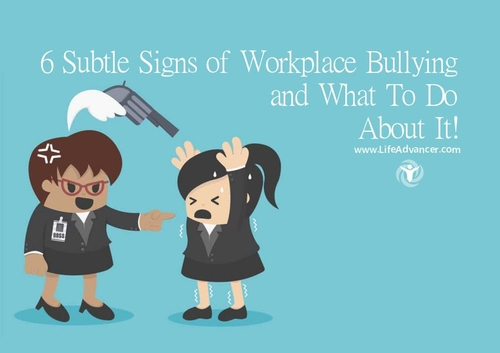 Bullying - it doesn't just happen in the playground...