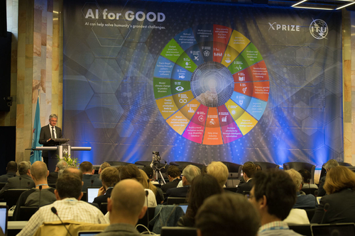 Audi CEO Stadler speaks at UN congress in Geneva about artificial intelligence