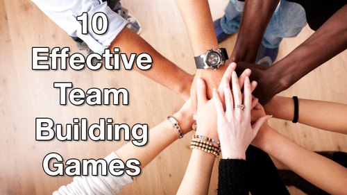 10 Team Building Games & Ideas You Should Try In Your Company