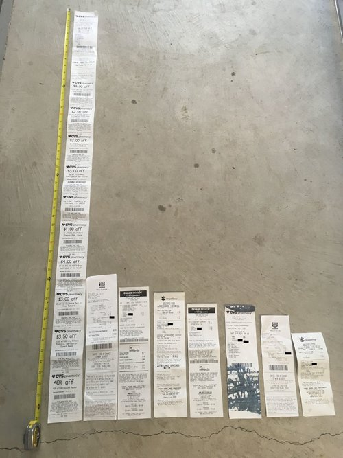 Blame Big Data for CVS's endless miles of receipts