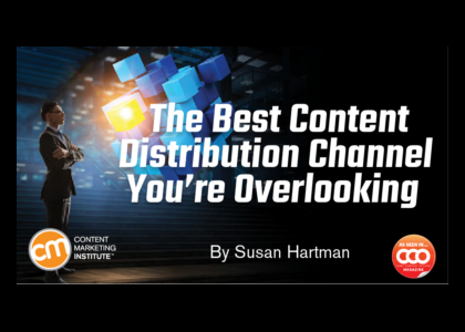 Are you overlooking your best content distribution channel?