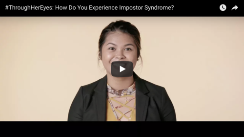 How I made 'imposter syndrome' work for me