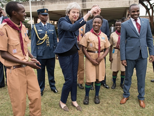 Dance to the Beat of Your Own Drum. Except You, Theresa May. Please Stop.