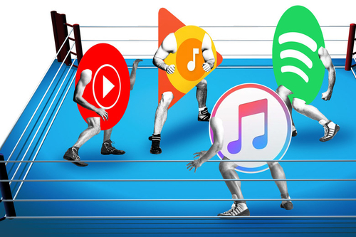 Battle of the Players... the Music Streaming Services