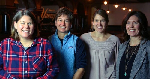 Four Sisters Managing The Beer Business