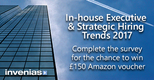 Invenias In-house Executive & Strategic Hiring Trends 2017