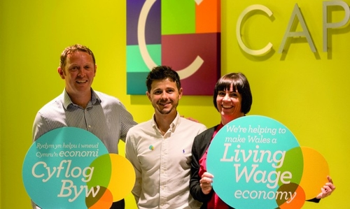 Capital Law - Wales' 100th Living Wage Employer