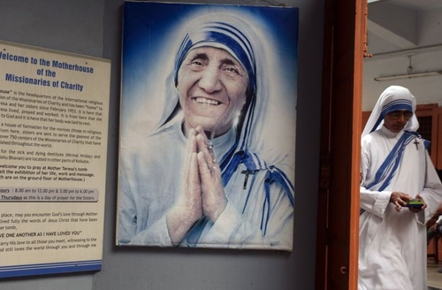 Mother Teresa's 'uniform' successfully trademarked