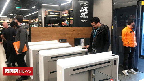 Amazon opens a supermarket without checkouts
