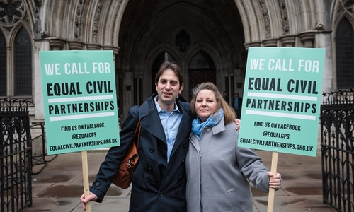 Heterosexual Civil Partnerships to be appealed to Supreme Court