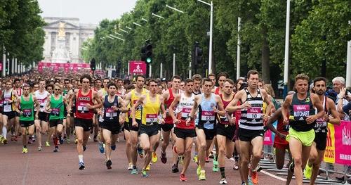 10k's harder than marathons? Vitality 10000