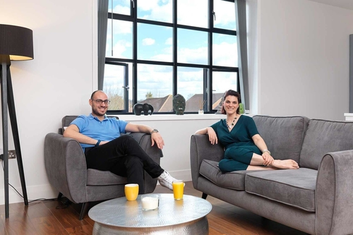 A converted Barnet office block makes a surprisingly successful family home